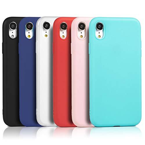 9 x Cover iPhone XR XiaoXiMi Custodia Ultra Sottile Silicone