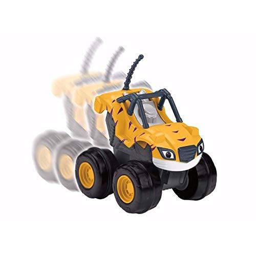 Stripes Veículo Turbo Monster Machines Blaze Fisher-Price - Mattel Cgk25