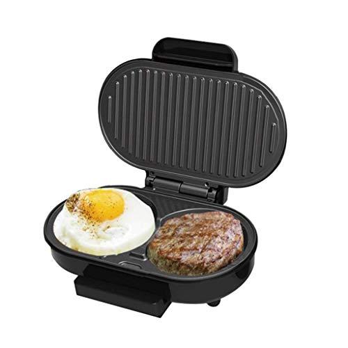 Toastie Maker Large Fit Grill Steak Burger Omelette Máquina Versátil Plancha Heladera