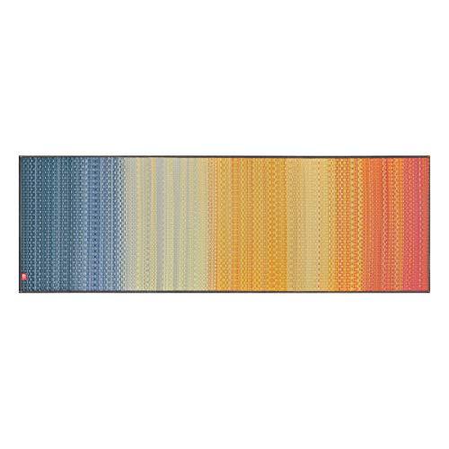 IKEHIKO Antideslizante 1/4-inch Yoga Mat-Tatami japonés-desodorización-Natural Aroma Relajante Pilates, Meditación-Fabricado en Japón, Naranja, Azul