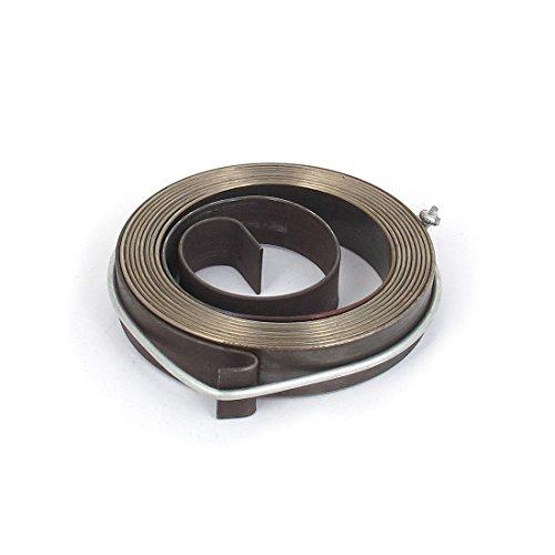 sourcingmap® 10mm larghezza seminatrice metallo premere tubetto alimentazione bobina ritorno mandrino Attrezzo montaggio molla