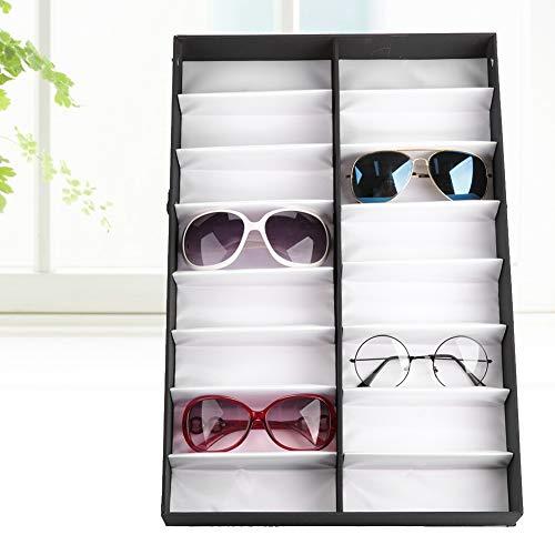 Soporte plegable para gafas de sol, práctico estuche para reloj, compacto para...