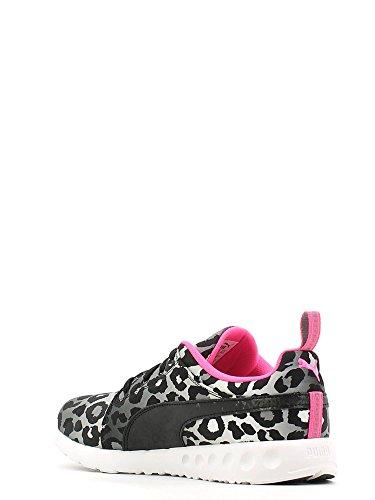 Puma Carson Runner Wmns Leopard - Zapatillas de gimnasia de Material Sintético para mujer Negro Nero/Grigio/Bianco 39