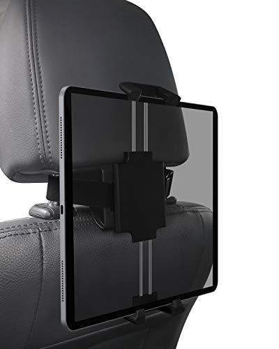 AUKEY タブレットホルダー 車載ホルダー ヘッドレストホルダー 後部座席用 取り付け簡単 360度回転 iPhone/iPad/Samsung Galaxy/Nintendo Switchなど幅広いのスマホ&タブレットに対応 HD-C53