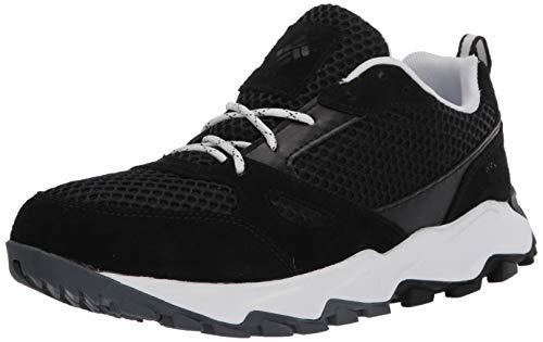 Columbia womens Ivo Trail Breeze Hiking Shoe, Black/White, 9.5 US