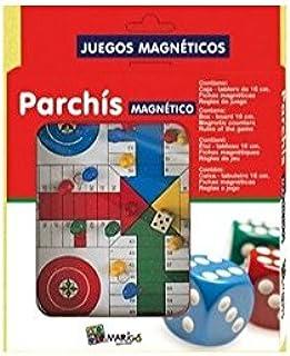 Juego Magneticos Parchis: Amazon.es: Juguetes y juegos