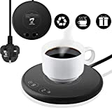 Smart Coffee Mug Warmer Electric Beverage Warmer,with Two Temperature Control for Office or