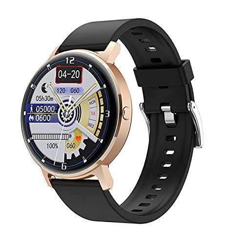 Music Smart Watch para teléfonos Android IOS Teléfonos Monitor de ritmo cardíaco Monitor de ritmo arterial Bluetooth Call Step Counter Watch Modos deportivos Rastreador Calorie Contador de calorías Re