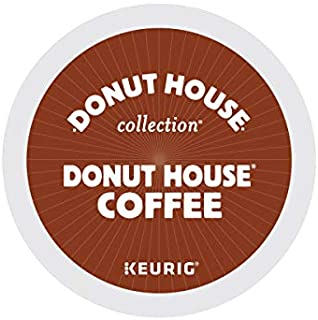 Donut House Collection, Donut House Coffee, Single-Serve Keurig K-Cup Pods, Light Roast, 72 Count (3 Boxes of 24 Pods)