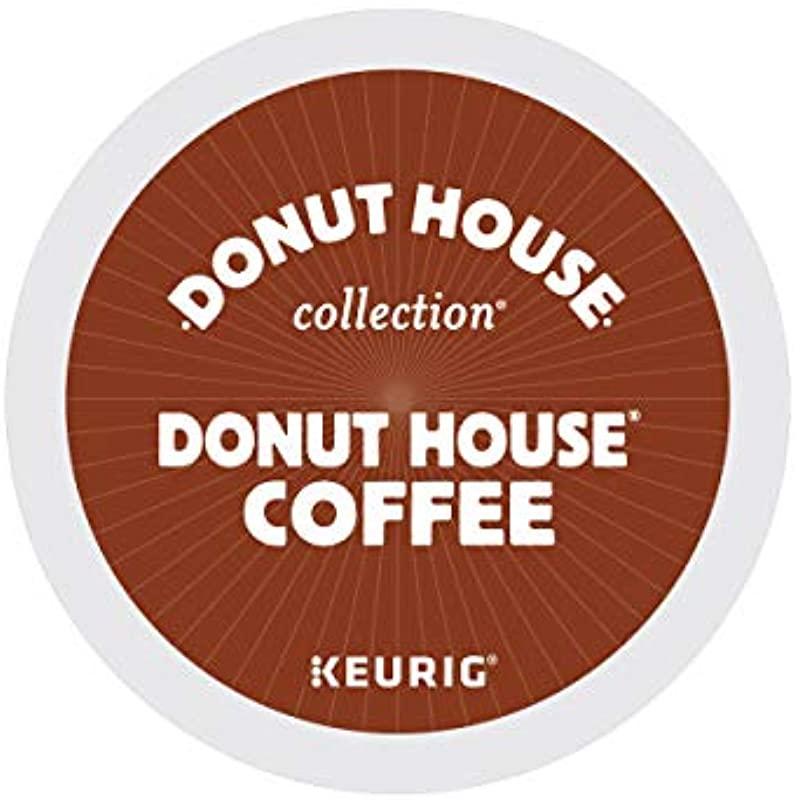Donut House Collection Donut House Coffee Single Serve Keurig K Cup Pods Light Roast 72 Count 3 Boxes Of 24 Pods