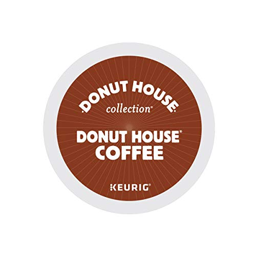 Donut House Collection Donut House Coffee Keurig Single-Serve K-Cup Pods, Light Roast, 72 Count (6 Boxes of 12 Pods)