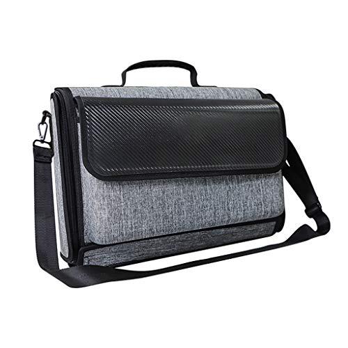 ZJL220 Game Console Bag Wasserdichter Speicher für PS5 Wireless Controller Hard Case Stoßfeste tragbare Sammlung Tragetasche Handtasche Spielkomponenten-Zubehör