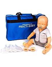 Maniquí lactante Practi-Baby para RCP y manipulación de destrucción con bolsa de transporte