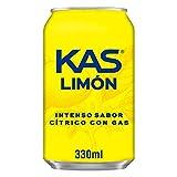 Kas Limón - Bebida refrescante de zumo de fruta, lata 33 cl - [Pack de 24]