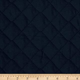 Fabri-Quilt Double Sided Quilted Broadcloth Navy Fabric By The Yard