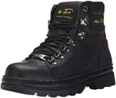 Ad Tec Womens 6 Inch Steel Toe Work Boots, Specially Design for Working Women, Lace Up Closer, Durable Leather Slip...