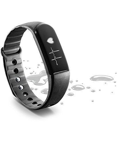 cellularline ? Easy Fit HR Touchscreen Fitness Tracker Orologio con cardiofrequenzimetro e Sonno monitorare