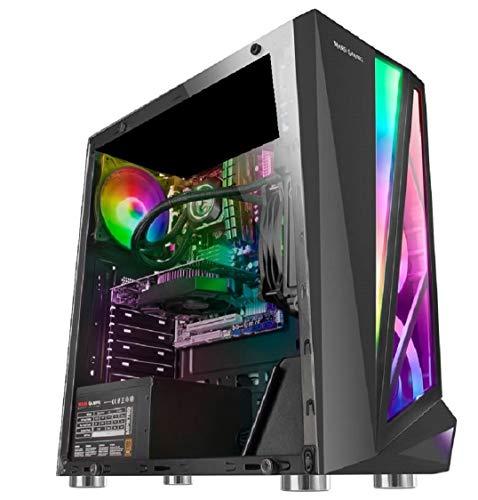 TrendingPC • Ordenador Gaming RGB Intel Core I5 9400f 6X 4,10Ghz • Nvidia GT 1030 4Gb • 16Gb RAM DDR4 • 480Gb SSD • WiFi 300 mbps • Windows 10 Pre • USB 3.0