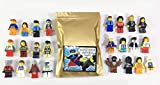 12 Brand New Random Lego Minifigures Each has all body parts and a hat, hair or helmet. All are Brand New LEGO Branded minifigs, a real crowd pleaser. Random, excellent and fun assortment of LEGO figs ALL Brand New