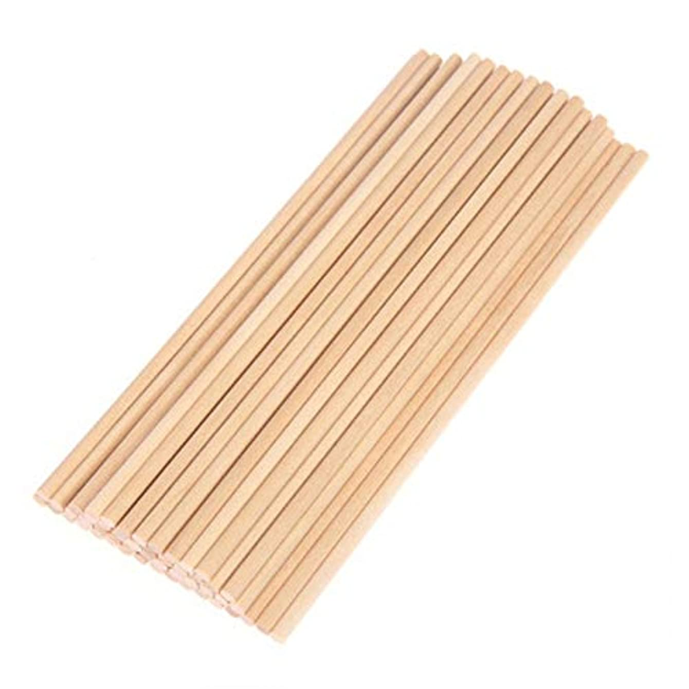 Wood Diy Crafts - 50pcs 10 15 20 0.5cm Round Natural Wooden Lollipop Lolly Sticks Cake Dowel Craft - Wood Crafts Wood Crafts Wooden Craft Stick Dowel Round Dress Decor Accessory Plastic Orange
