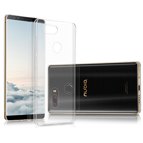kwmobile Hülle kompatibel mit Archos Archos Diamond Omega - Silikon Handyhülle transparent - Handy Hülle in Transparent