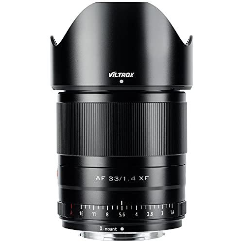 VILTROX 33mm F1.4 fujifilm X Mount f/1.4 XF AF Auto Focus Lens for Fujifilm Fuji X-Mount Camera X-T3 X-T2 X-H1 X20 X-T30 X-T20