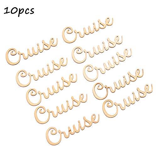 jumpeasy 10 stks Decor Gifts DIY Bruiloft Ambachten Kaart maken Houten Letters Scrapbooking Tafel Decoraties