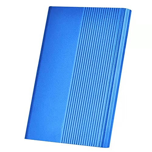 External Hard Drive,Portable External 1TB 2TB Ultra Slim Hard Drive Portable HDD Type C Hard Drive for Mac,PC(1TB Blue)