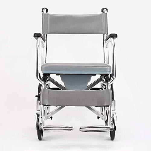 HWZLOIK Rollstuhl, zusammenklappbares Licht Elektro-Rollstuhl, ältere intelligente automatische vierrädrigen Motorroller, Größe -92.5x56.5x81cm