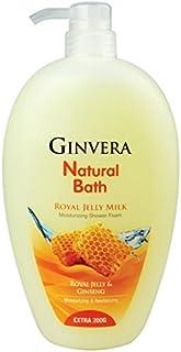 Ginvera Natural Bath Roya Jelly Milk Shower Foam, 1000 g