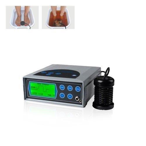 chi-enterprise Ion Cleanser DELUXE Galvano-Set I Hydro-galvanisches Therapiegerät im Alu-Koffer I Elektrolyse-Gerät Komplett-Set für Fußbad Handbad Ganzkörper-Bad I Hüftgurt Infrarot-Technik