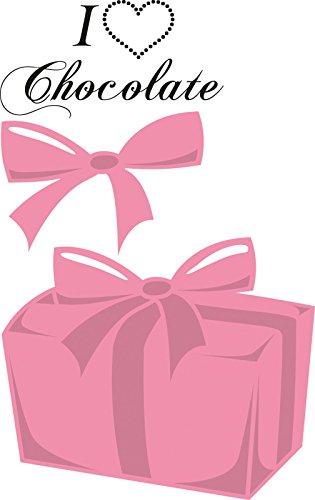 Marianne Design Collectables Dies met stempels-doos van chocolade, 1,25 2,25-inch, metaal, roze, 5,2 x 3,7 x 0,4 cm