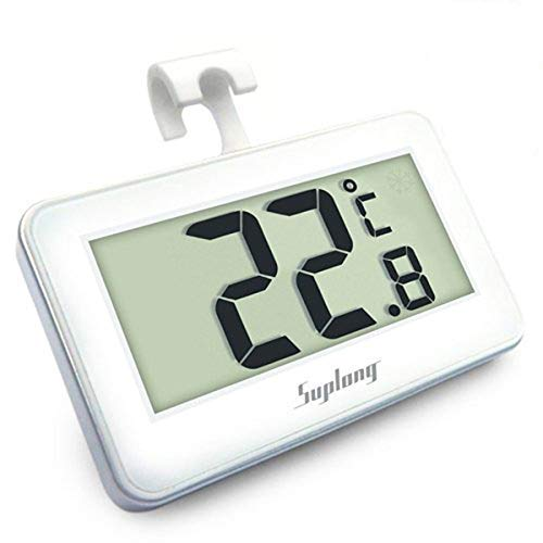 Fridge Thermometer Digital Refrigerator Thermometer, Suplong Digital Waterproof Fridge Freezer Thermometer With Easy to Read LCD Display (1)