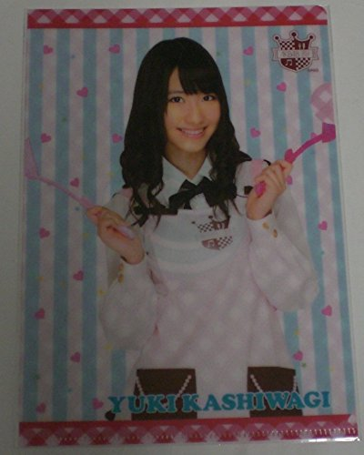 AKB48 公式 A5 クリアファイル 柏木由紀 (エプロン) 単品 AKS