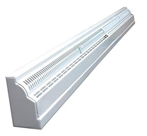 TruAire 48 Inch Baseboard Register (White)