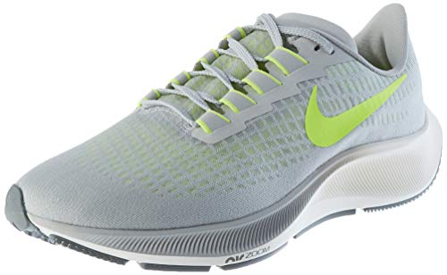 Nike Pegasus 37, Scarpe da Corsa Uomo, Fog Grey Volt, 44 EU