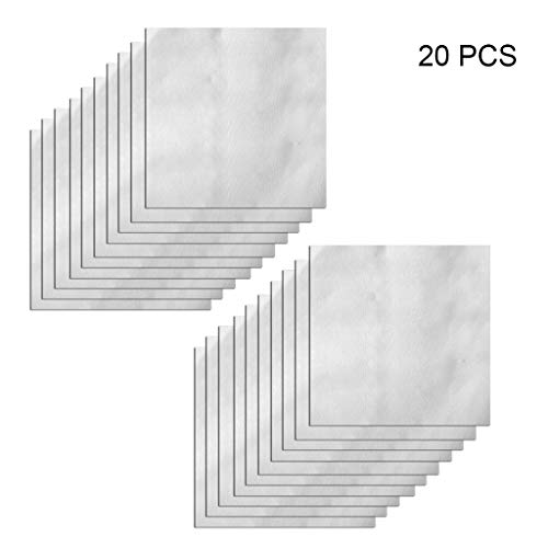 Rongzou Multifunktions-Reparaturflicken, wasserdicht, Anti-Beschlag-Kleber, 20 Stück