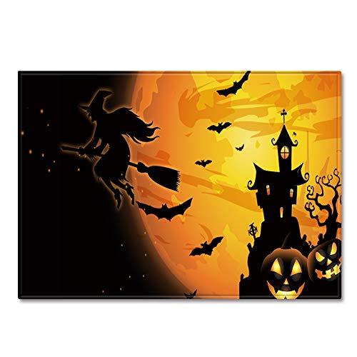 AMON LL Tapijten Direct Machine Wasbare Matten Tapijten, Halloween Decoratieve Keuken Tapijt Runner Antislip Deurmat Runner Tapijt