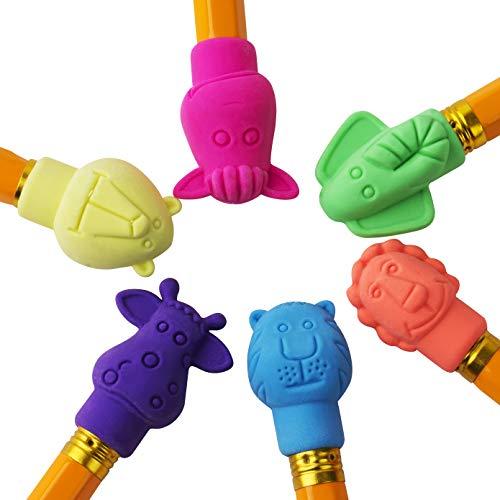 Mr. Pen- Erasers, Cap Erasers, 60 Pack, Animal Eraser Caps, Erasers for Kids, Pencil Eraser, Pencil Erasers Toppers, Eraser Pencil, Cute Erasers, Colorful Erasers, School Supplies, Pencil Top Erasers Photo #2