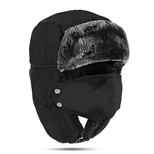 Winter Face Mask Russian Ushanka Trapper Hat