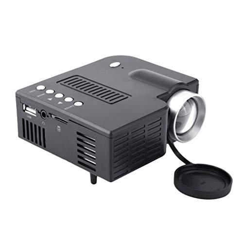 Ownlife TF proyector LED HDMI AV UC28A Mini portátil LED...