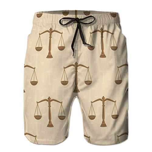 Yuerb Herren Shorts Quick Dry Beach Shorts Taschen Watershort Waage mit einem Gewicht von bal