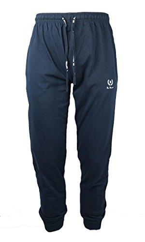 BE BOARD Pantalone Tuta Uomo Cotone Leggero Art 920 con Polsino