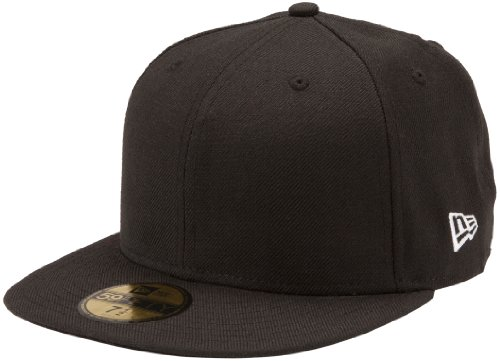 New Era Herren Schirmmütze Ne Original Basic 5950 59-Fifty, Schwarz, 7.25