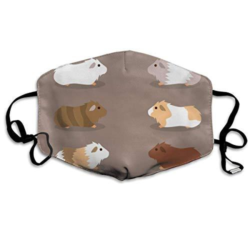 Mond Masker Zes Muizen Print Maskers - Ademende Verstelbare Winddichte Mond-Muffel, Camping Hardlopen Voor Vrouwen En Mannen
