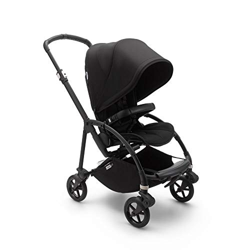 Bugaboo Bee 6 Stroller - Lightweight, Compact and Easy to Fold Stroller for Travel and City Life. Easy to Steer. The Most Popular Lightweight Stroller - Black