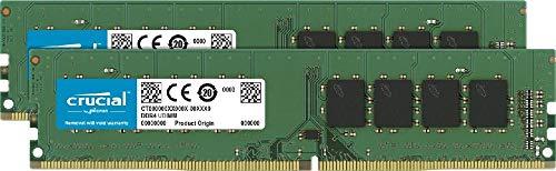 Crucial RAM CT2K16G4DFRA32A 32GB (2x16GB) DDR4 3200 MHz CL22 Kit di Memoria Desktop