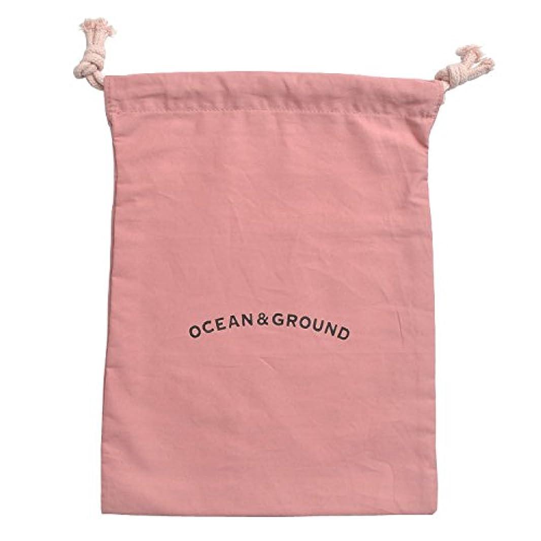感じ緩めるナース(オーシャン&グラウンド) OCEAN&GROUND シューズバッグ 巾着 女の子 男の子 巾着袋 中 1815902 通園 通学 Mサイズ 袋 バッグ