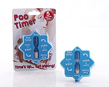 Boxer Gifts Novelty Poo Timer   Funny Toilet Timer   Great Birthday Christmas White Elephant Gift For Husbands Dads and Other Men