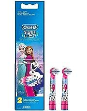 Oral-B Stages Çocuklar Için Diş Fırçası Yedek Başlığı, Frozen, 2 Adet